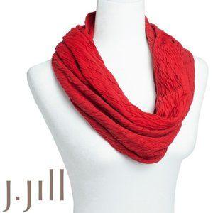 🔴 J.Jill Infinity Red Scarf 📍SALE📍